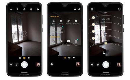 Moto G7 app cámara