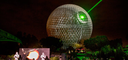 Disney transformó la Spaceship Earth de Epcot en una majestuosa Estrella de la Muerte de Star Wars