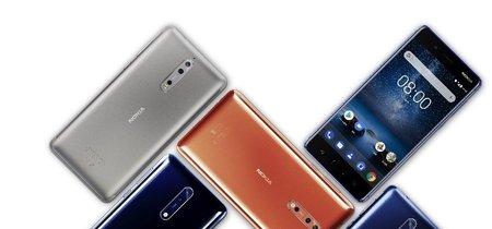 El esperado Nokia 8 llegará a México en octubre por 13,999 pesos