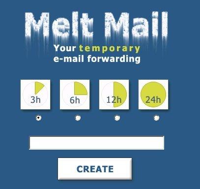 Melt Mail, tu correo provisional
