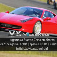 Jugamos en directo a la versión para consolas de Assetto Corsa a las 17:00h (las 10:00h en Ciudad de México) (finalizado)