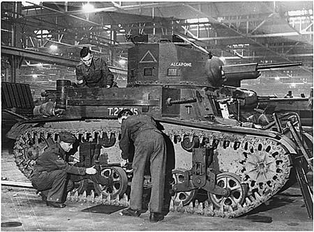 M2 Tank England
