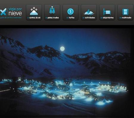 Viaje por Nieve, guía virtual de algunos centros de esquí