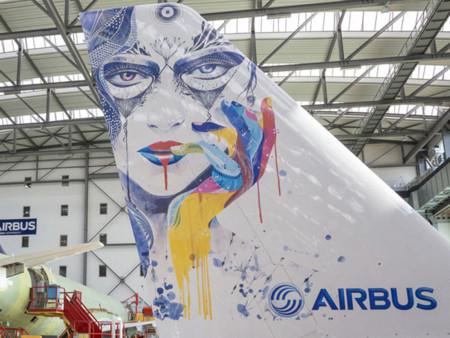 Airbus quiere optimizar el 'pintado' de los aviones con una impresora de tinta