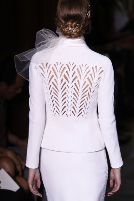 Espalda chaqueta Valentino Alta Costura