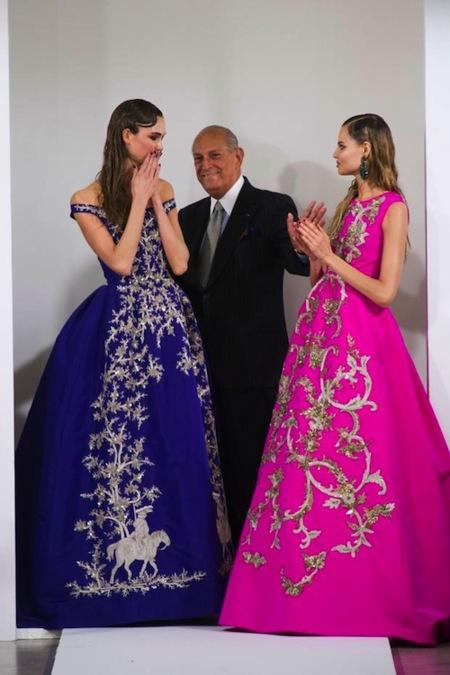 La semana de la moda de Nueva York sigue de fiesta con Oscar de la Renta, Rodarte y Monica Lhuillier