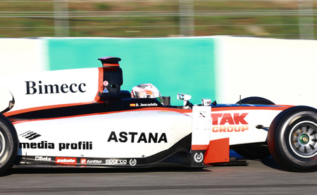 Dani Juncadella Test GP2 Jerez Día 2