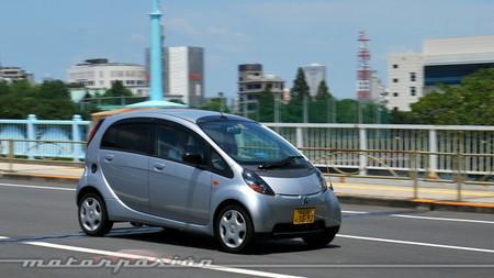 Mitsubishi i en Tokio