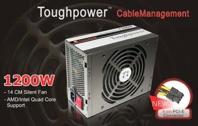 Fuente de alimentación de 1.200Wde Thermaltake con Toughpower