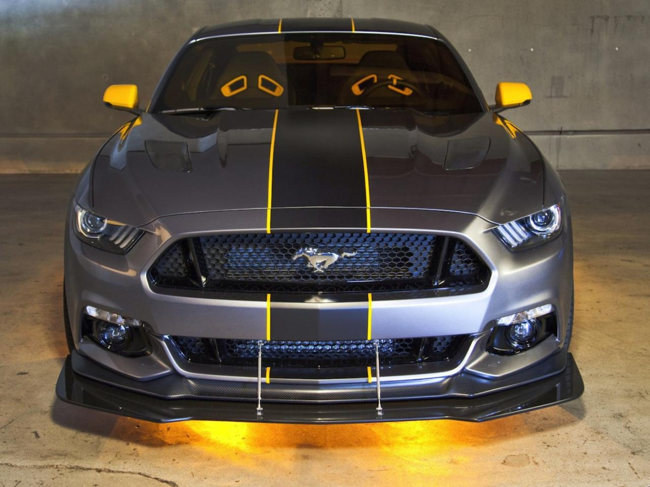 Ford Mustang 2015 Blanco Foto de 2015 Ford Mustang gt