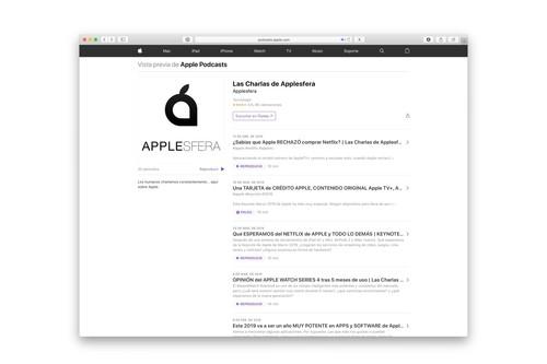 Apple Podcasts ahora permite reproducir episodios directamente desde la web
