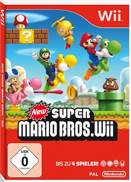 New Super Mario Bros. Wii - Caja roja