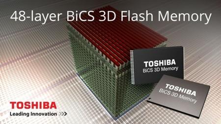 Toshiba y SanDisk quieren ir más lejos con memoria 3D NAND de 48 capas