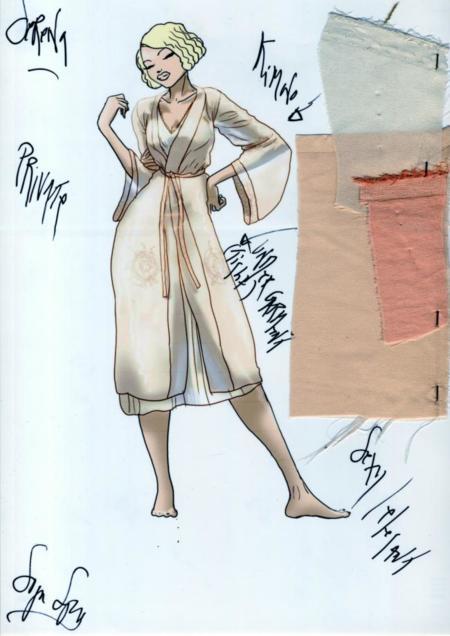 vestuario de Serena