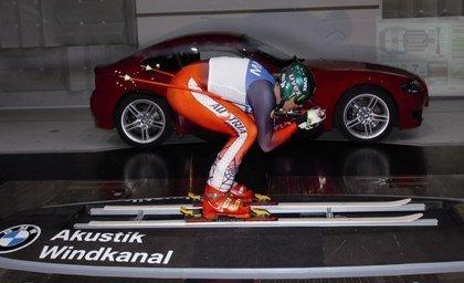 BMW y los esquiadores austríacos