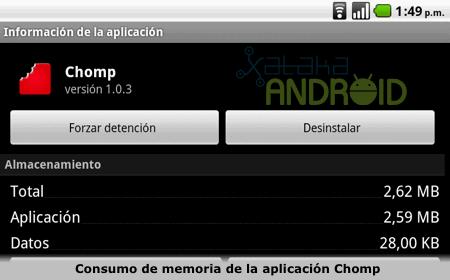 Chomp buscador de aplicaciones