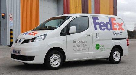 El Nissan NV200 EV rodará por las calles de Londres de la mano de FedEX