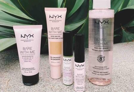El extracto de semilla de cannabis es el ingrediente estrella de la nueva línea de NYX Cosmetics