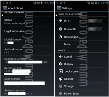 LG X3 P880: características y benchmark del primer smartphone con Nvidia Tegra 3