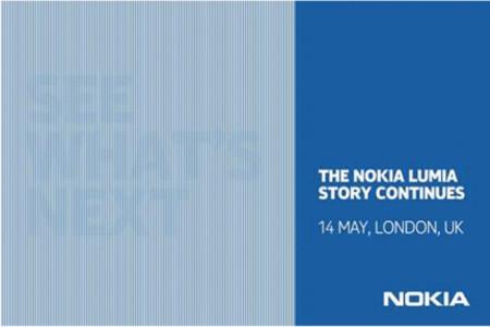 Nokia nos cita en Londres el 14 de Mayo para conocer un nuevo Lumia