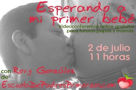 """Conferencia online gratuita: """"Esperando mi primer bebé"""""""