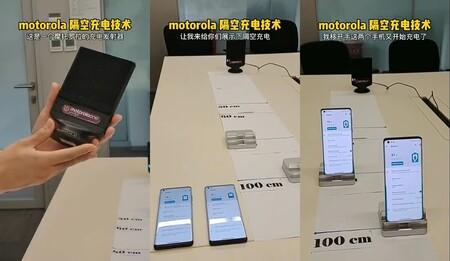 """Motorola también tiene su tecnología de carga """"por el aire"""": así funciona la carga de dispositivos hasta a 1 metro de distancia"""