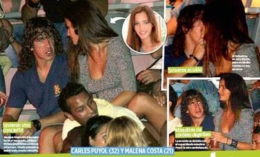 ¿Carles Puyol y Malena Costa?