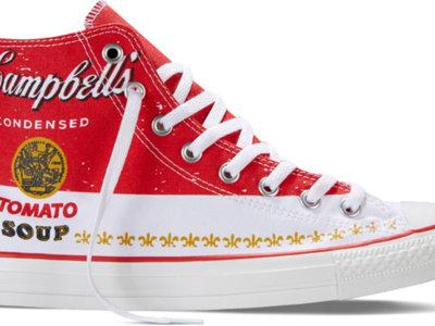 Las Chuck Taylor All Star de Converse x Andy Warhol en edición limitada para este verano