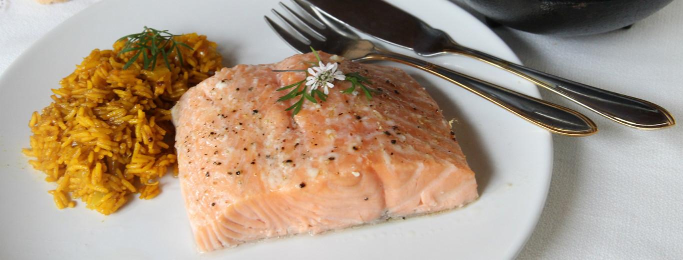 Salmón Al Horno A Baja Temperatura La Forma Ideal De Cocinar Este Pescado Para Que Nunca Se Pase