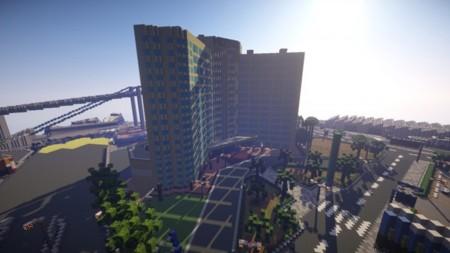 Un youtuber está recreando todo Grand Theft Auto en Minecraft a escala 1:1