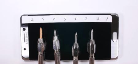 Resistencia del Galaxy Note 7 es puesta a prueba y arroja algunos resultados agridulces