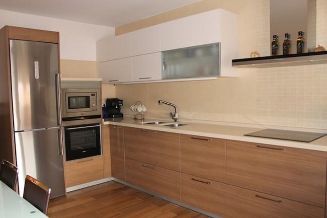 Cocinas sin obras good como renovar la cocina with for Renovar muebles cocina