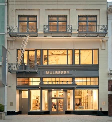 Mulberry inaugura tienda en San Francisco