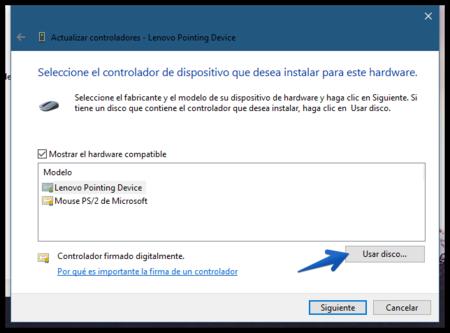 Actualizar Controladores Lenovo Pointing Device 2017 08 28 14 49 50
