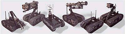 Un batallón de robots para Irak