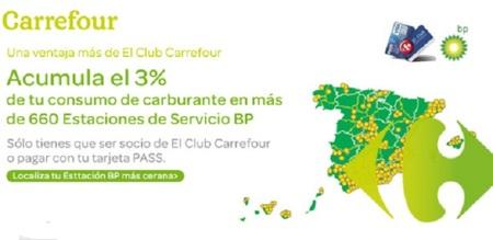 3% de descuento en BP por ser miembro de Club Carrefour
