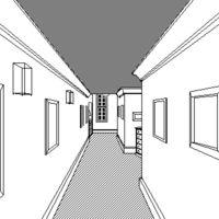 Así luce P.T. recreado con la herramienta HyperCard de los primeros Macintosh, y se puede jugar