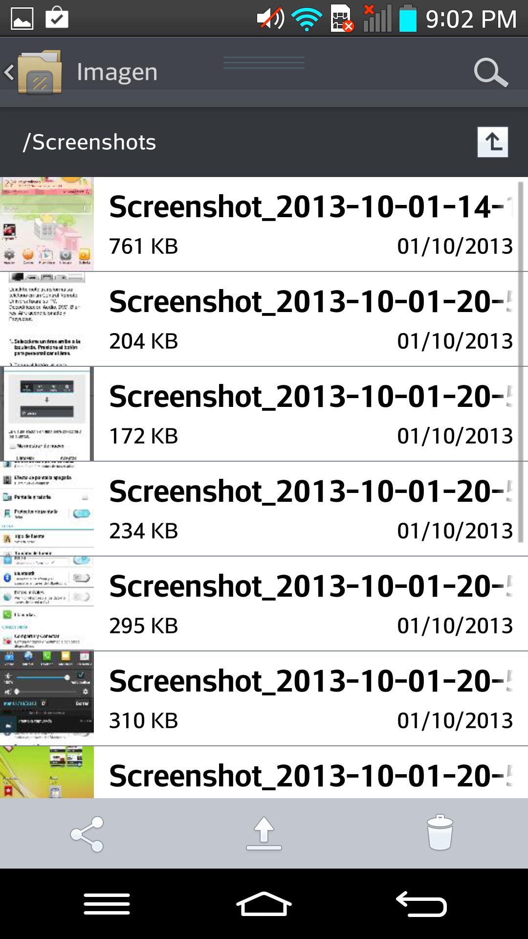 Foto de LG G2 interfaz (11/20)