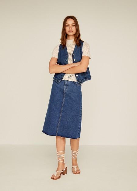falda mango