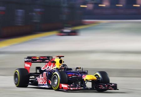 Triunfo de Sebastian Vettel en un accidentado Gran Premio de Singapur
