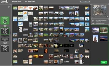 Pixolu, buscador de imágenes refinado