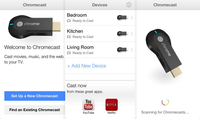 Chromecast para iOS