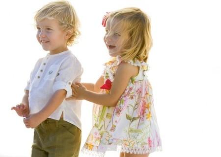 Moda Verano 2014 para bebés y niños: conjuntos para hermanos o gemelos