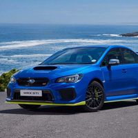 Este es el Subaru WRX STi más potente hasta la fecha, con 354 CV, pero es sólo para Sudáfrica...