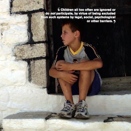 Cualquier sociedad debería obligarse a concebir sistemas judiciales que tengan en cuenta las necesidades de la infancia