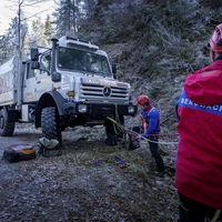Este Mercedes-Benz Unimog U 4000 es la nueva herramienta de rescate en la Selva Negra