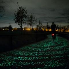 Foto 3 de 9 de la galería carril-bici-la-noche-estrellada-por-studio-roosegarde en Motorpasión