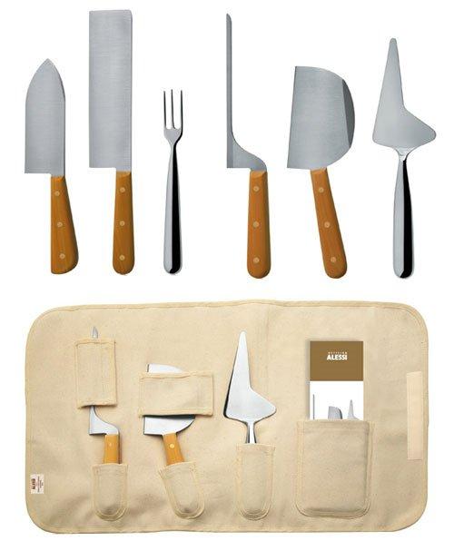 Juego de cuchillos para queso de alessi - Cuchillo cortar queso ...