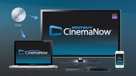 Best Buy lanza CinemaNow, un servicio para subir DVDs a la nube