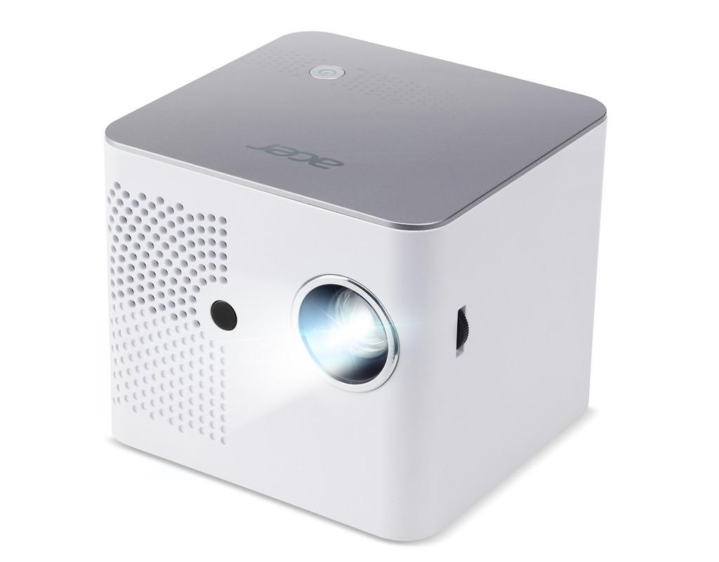 Este proyector portátil de Acer, el B130i, incorpora una batería para no depender de un enchufe